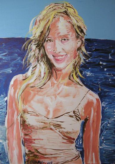 Jessica Alba por Philippe
